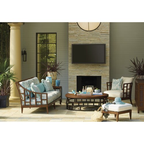 tommy bahama outdoor ocean club resort 4 piece deep 11097 | tommy bahama outdoor ocean club resort seating group with cushion tbol1099