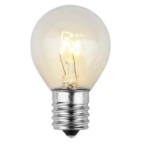 10w 130 volt light bulbs pack of 25 by wintergreen lighting. Black Bedroom Furniture Sets. Home Design Ideas