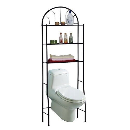 Perfect Chrome Bathroom Shelf Space Saver  Overstockcom
