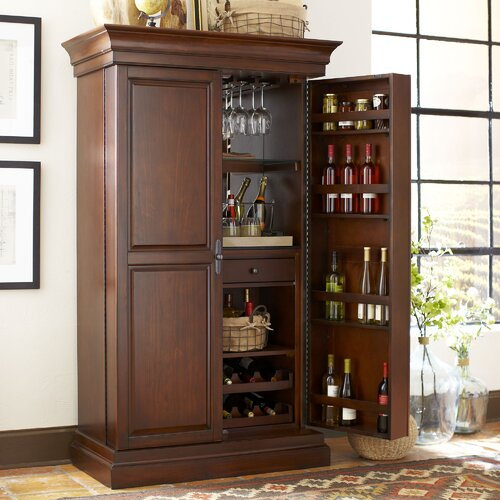 Birch lane landon bar cabinet reviews wayfair for Birch kitchen cabinets review