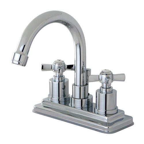 Kingston Brass Millennium Double Handle Centerset Bathroom Faucet Reviews Wayfair