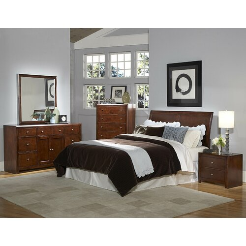 Woodhaven Hill Copley Sleigh Customizable Bedroom Set Reviews Wayfair