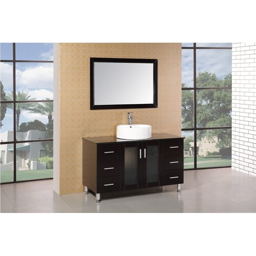 47quot; Single Bathroom Vanity Set with Mirror by AllModern Private Sale