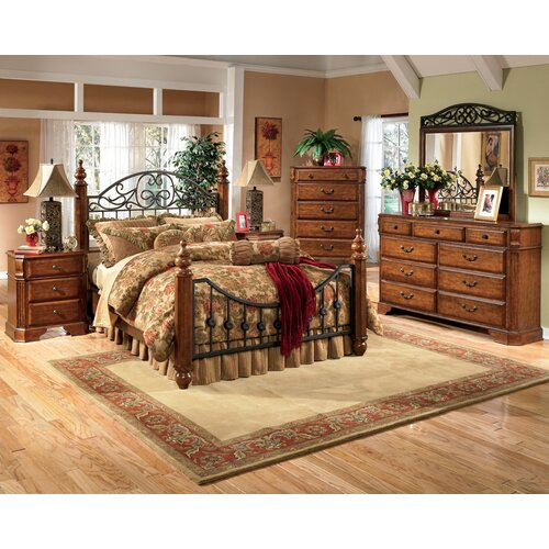 Signature Design by Ashley Vera Customizable Bedroom Set & Reviews ...