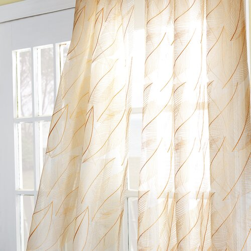 Beachcrest Home Tequesta Curtain Panel Amp Reviews Wayfair