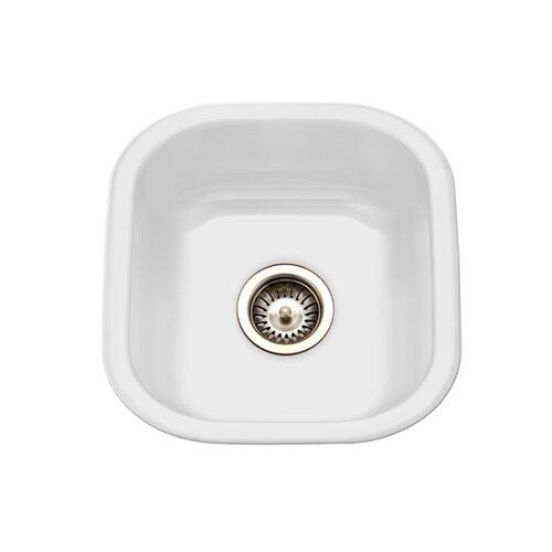 Houzer porcela x porcelain enamel steel for Porcelain on steel bathtub review