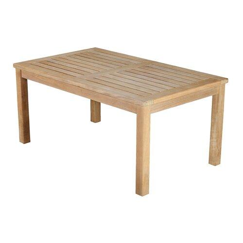 arbora teak oxford coffee table reviews wayfair. Black Bedroom Furniture Sets. Home Design Ideas