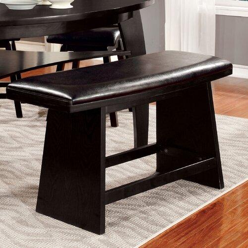 Hokku Designs Lawrence Wood Kitchen Bench & Reviews