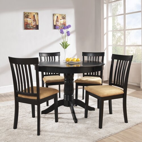 Kingstown Home Jeannette 5 Piece Dining Set & Reviews