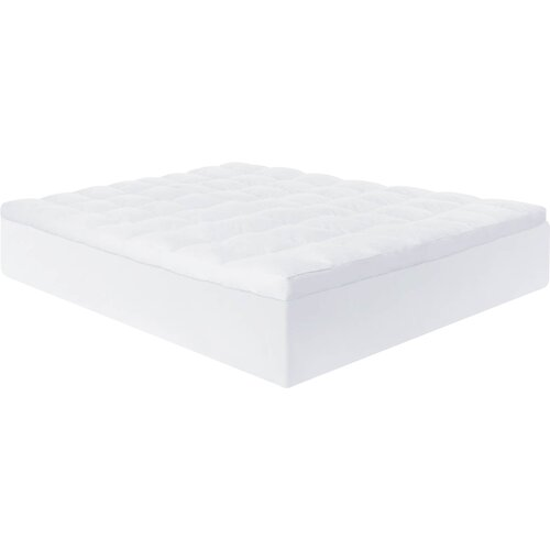 "Lucid 3"" Down Alternative Fiber Mattress Topper & Reviews"