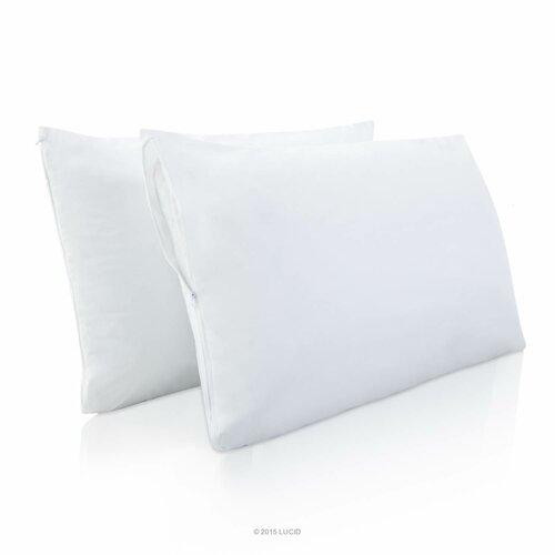 Lucid Encasement Pillow Protector Amp Reviews Wayfair