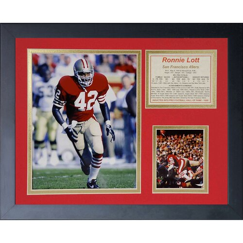 traditional housewarming gifts ronnie lott framed memorabilia wayfair 11432