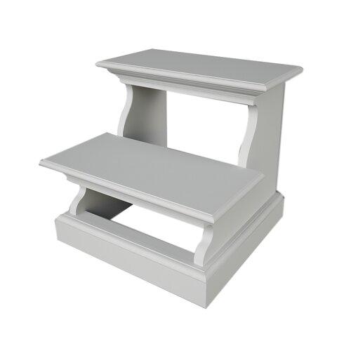 Kitchen Stools Halifax: NovaSolo Halifax 2-Step Wood Bed Step Stool With 200 Lb
