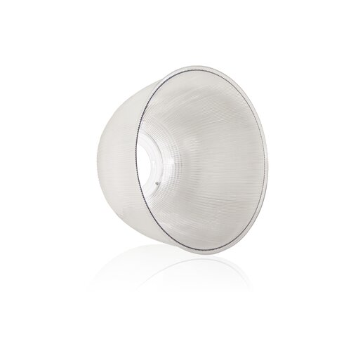 Led High Bay Prismatic Reflector: 45 Degree Reflector For LED High Bay Lamp