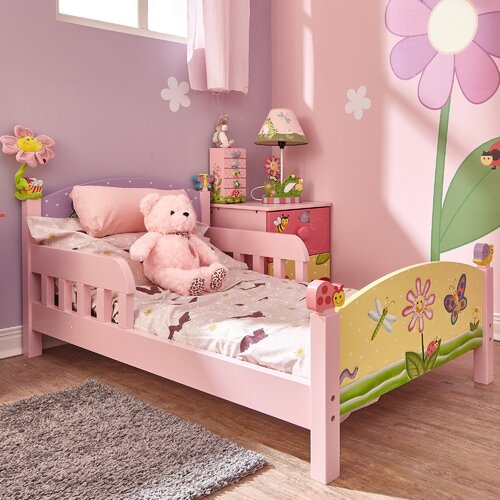 Garden Toddler Bed : Fantasy fields magic garden panel toddler bed reviews