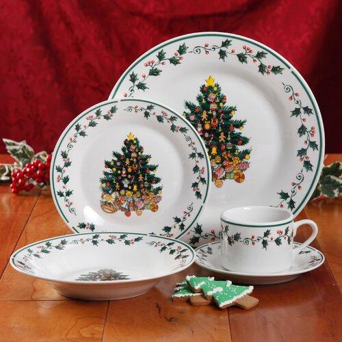 Gibson Tree Trimming Dinnerware
