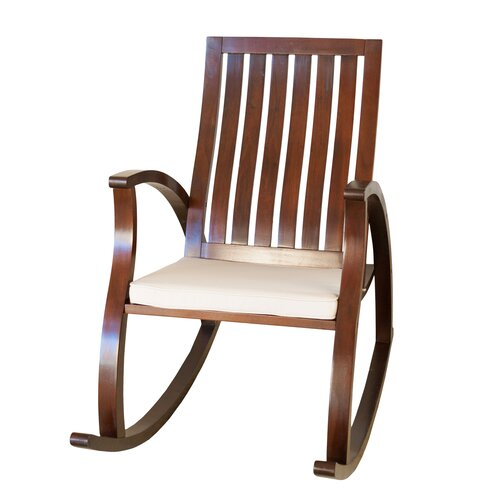 Home Loft Concepts Abraham Rocking Chair with Cushion & Reviews ...