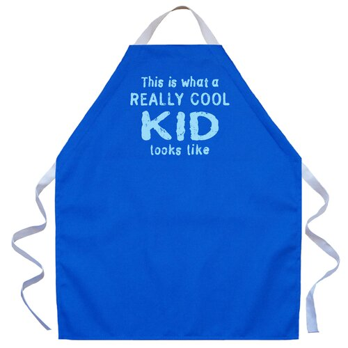 Really Cool Kid Apron In Royal By Attitude Aprons By La Imprints