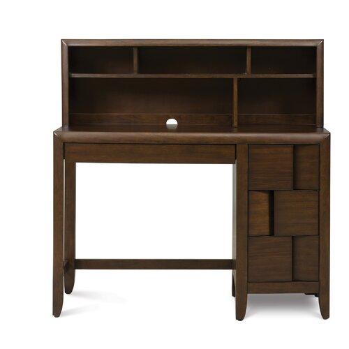 Twilight 2 Drawer Desk Hutch ly