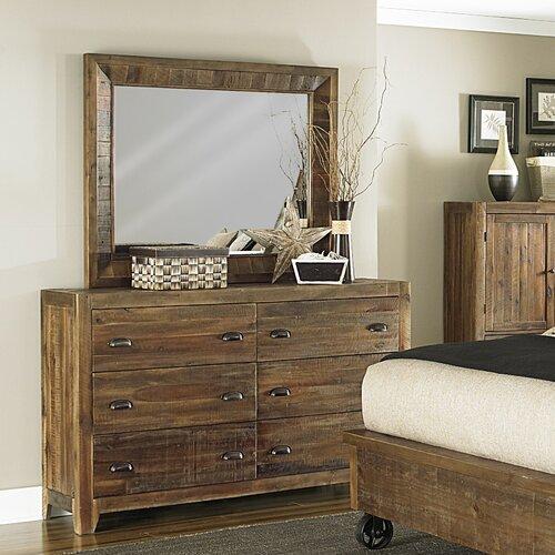 Magnussen River Ridge 6 Drawer Dresser With Mirror