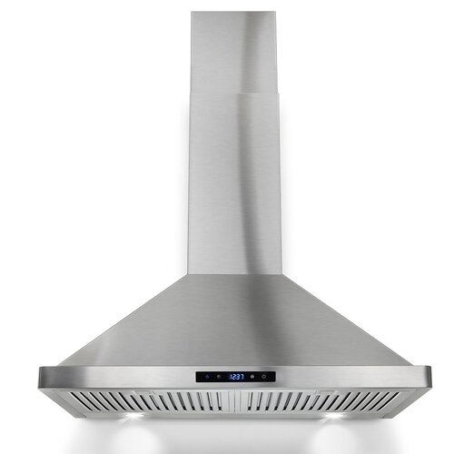 Ventless Range Hoods ~ Goldenvantage quot cfm convertible wall mount range