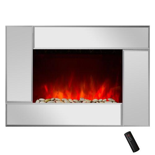 goldenvantage 5200 btu wall mount electric fireplace