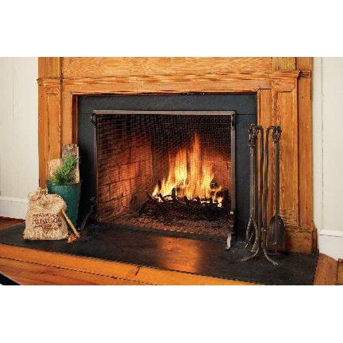 fireplace night guard Solid Steel Classic Flat Guard Fire Screens Wayfair .
