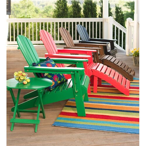 Plow And Hearth Furniture: Plow & Hearth Wooden Adirondack Chair & Reviews