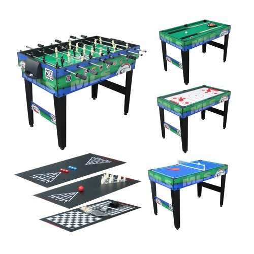 Triumph sports usa 10 in 1 major league soccer 48 game for 10 in one games table