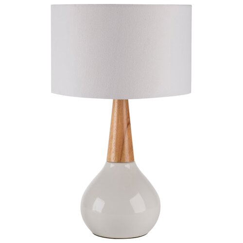 surya kent 18 5 h table lamp with drum shade reviews. Black Bedroom Furniture Sets. Home Design Ideas