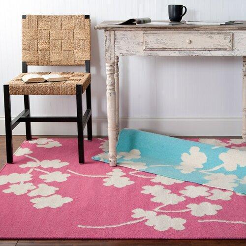 Surya Fallon Flamingo Pink Area Rug Amp Reviews Wayfair