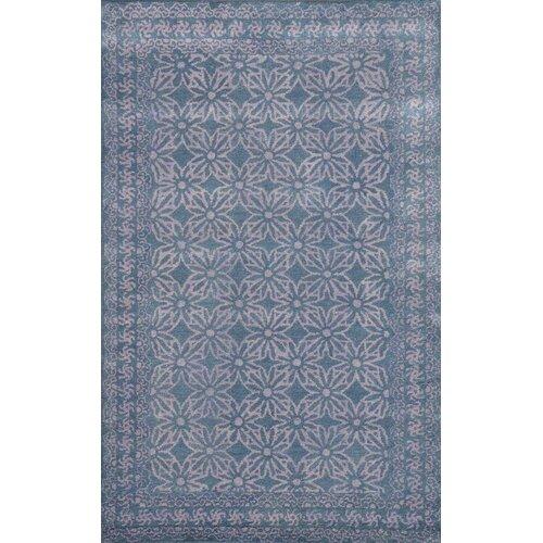 Sapphire Dark Grey Floral Area Rug by Dynamic Rugs