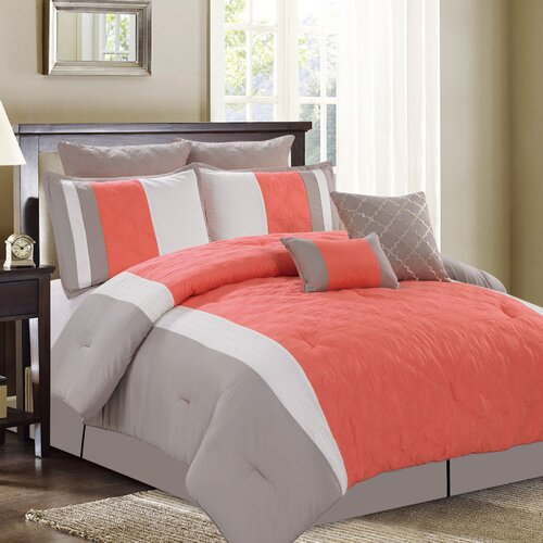 Sweet Home Collection 8 Piece Comforter Set & Reviews ...