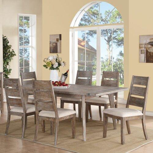 Mercury Row 7 Piece Dining Table Set Reviews Wayfair
