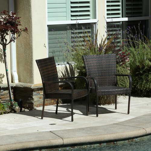 Mercury Row Outdoor Wicker Chair Amp Reviews Wayfair