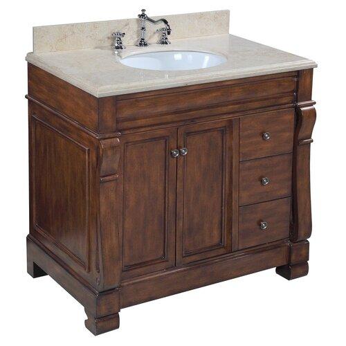 kbc westminster 36 quot single bathroom vanity set amp reviews