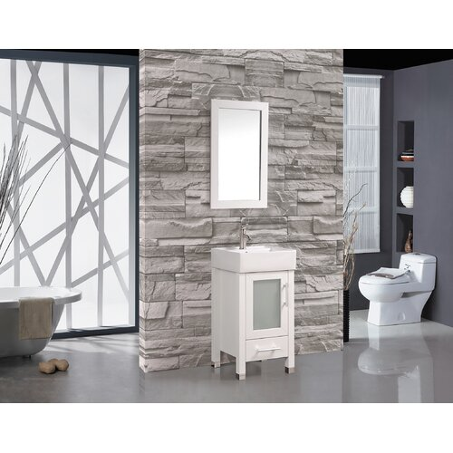 Amazing  Elevate Illuminated Single Bathroom Cabinet With DoubleSided Mirror