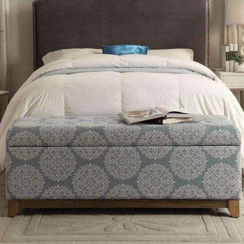 Homepop Apron Wood Storage Bedroom Bench Amp Reviews Wayfair