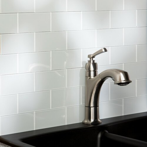 frost 6 x 3 glass subway backsplash tile kit reviews