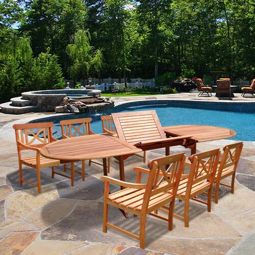 outdoor patio furniture patio dining sets vifah sku vfh1417