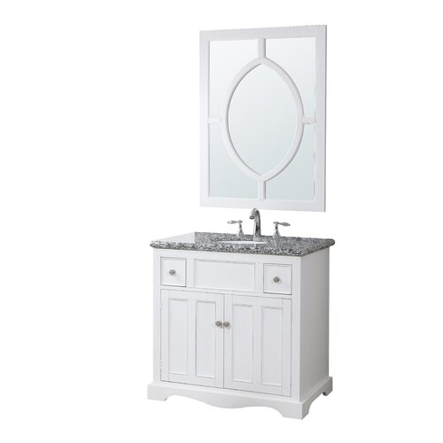 Crawford burke morton 35 bathroom vanity set with - Crawford and burke bathroom vanity ...