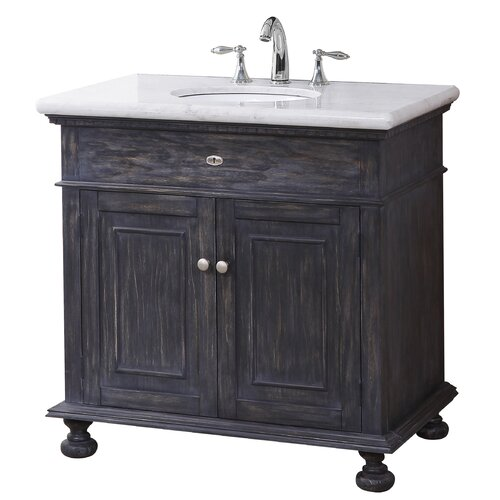 Crawford burke lincoln 35 bathroom vanity set reviews - Crawford and burke bathroom vanity ...