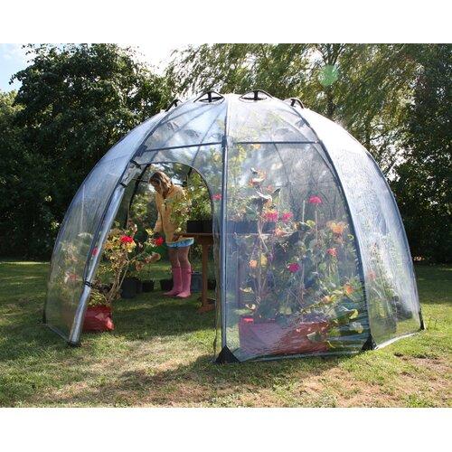 Haxnicks 11 5 Ft W X 11 5 Ft D Greenhouse Wayfair