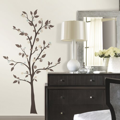 Elegant Tree Wall Decal Wayfair