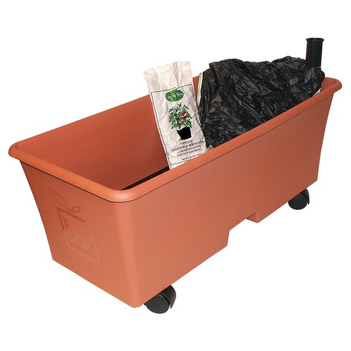 Earthbox rectangular planter box reviews wayfair for Wayfair garden box