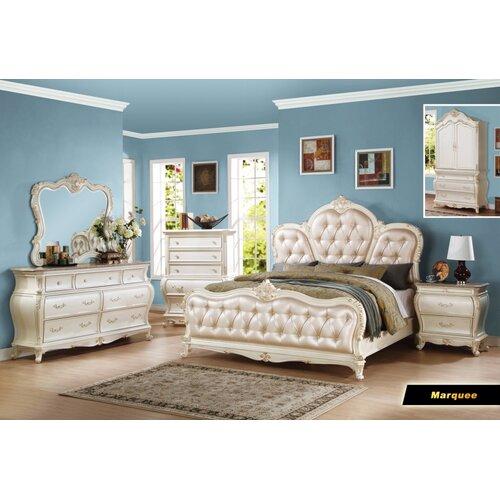 Bedroom Furniture Usa: Meridian Furniture USA Marquee Panel Customizable Bedroom