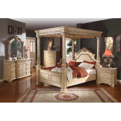 Bedroom Furniture Usa: Meridian Furniture USA Sienna Panel Customizable Bedroom