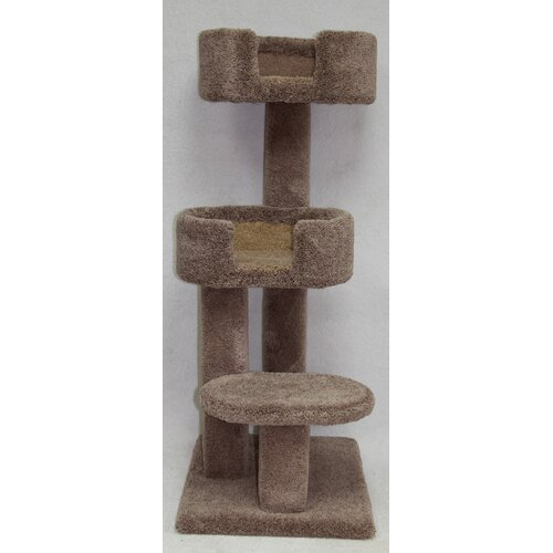 Beatrisepetproducts 48 Kitty Cuddle Tower Cat Tree Reviews Wayfair