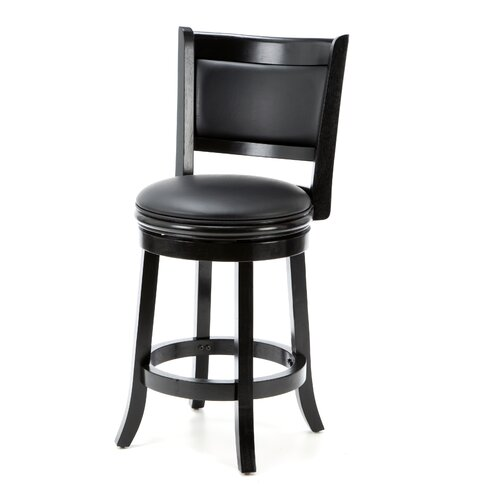 Darby Home Co Higby 24 Quot Swivel Bar Stool With Cushion