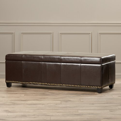 essential home lift top storage ottoman 1
